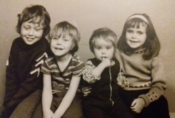 Us four